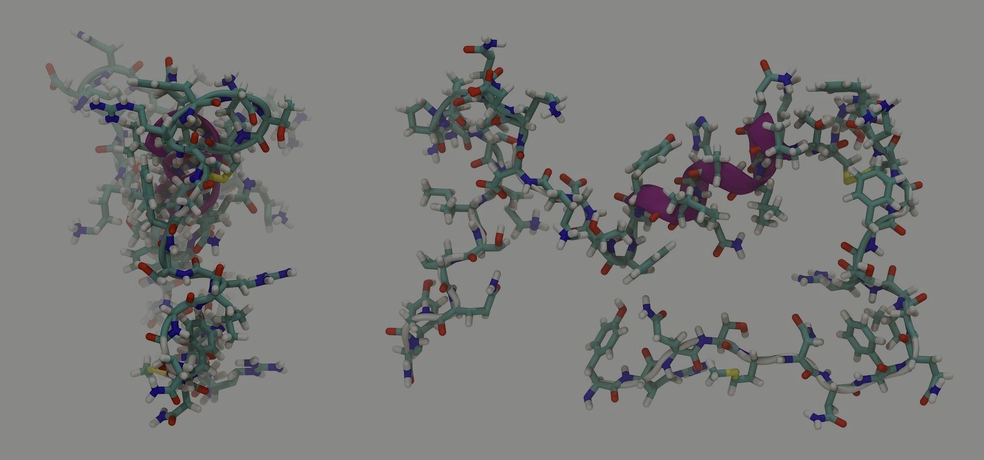Effet de l'ocytocine  et syndrome de Prader willi