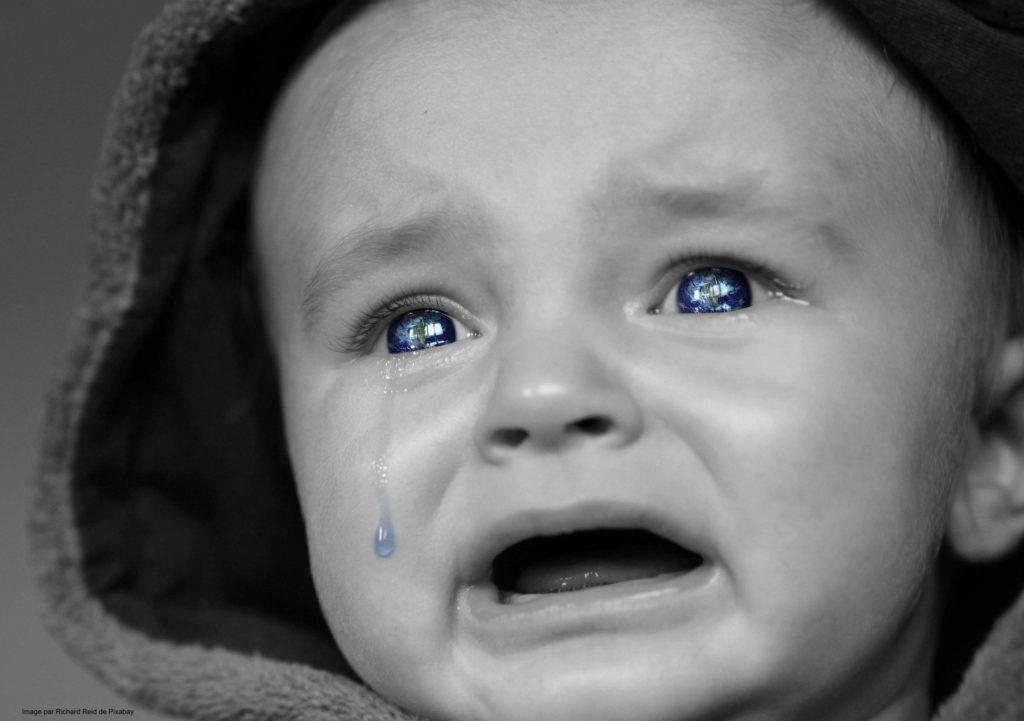 Les pleurs du bébé